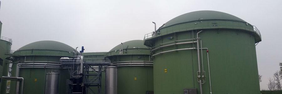 Il degrado dei teli in poliestere/PVC in impianti di biogas