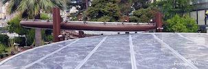 ETFE stampato: applicazioni singolo layer