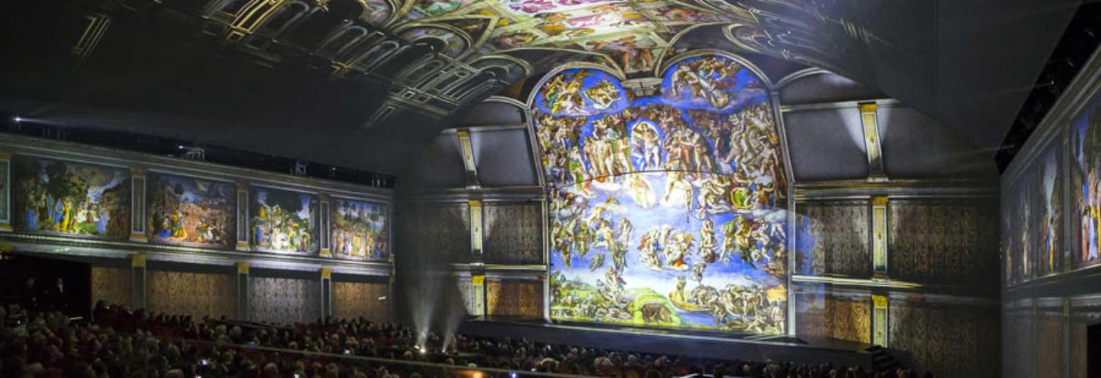 Rivestimento teatro - Giudizio Universale, Marco Balich