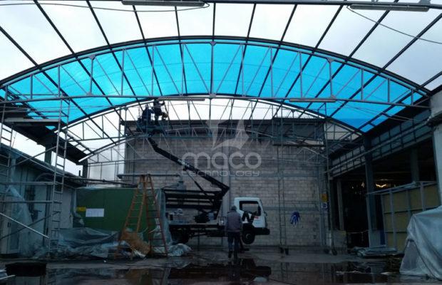 prototipo-copertura-ETFE-singolo-layer