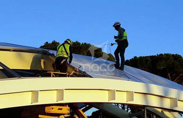 Montaggio-cuscini-ETFE