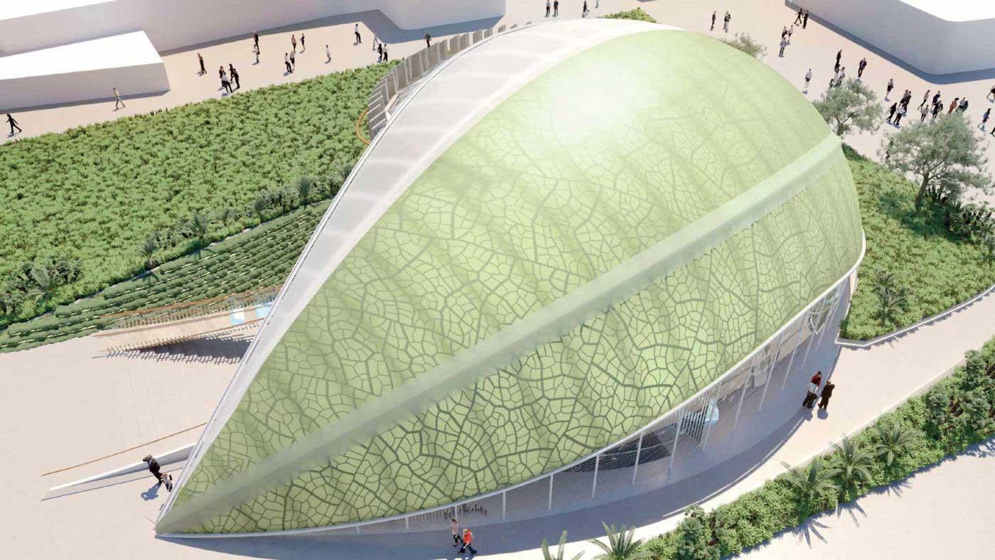 Pavilion Azerbaijan Expo Dubai 2020 ETFE