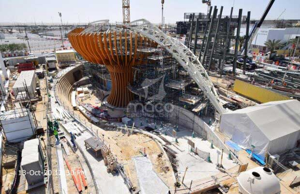 ETFE-padiglione-azerbaijan-Expo-dubai